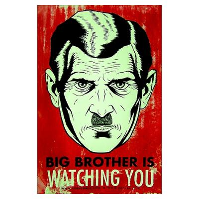 Big Brother Poster 1984 �� Utopia or Dystopia
