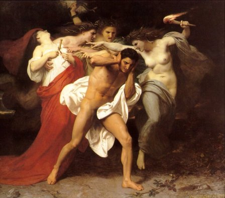 The Furies and Orestes