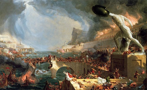 Thomas Cole the Course of Empire