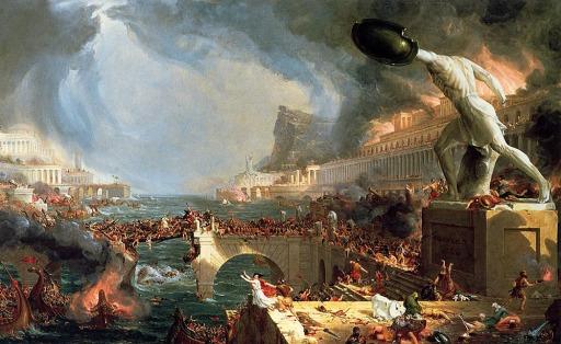 Thomas Cole the Course of Empire