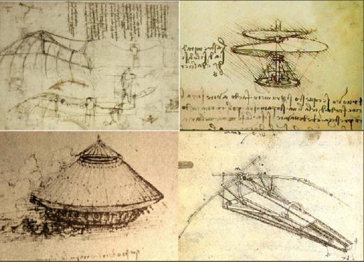 Leonardo Davinci's Inventions