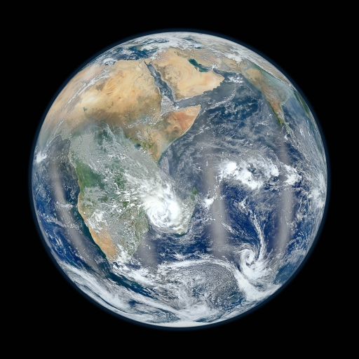 Eastern Hemisphere from Space Nasa High Resolution