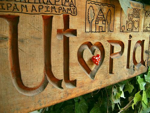 Utopia sign