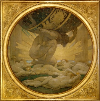 atlas-and-the-hesperides-1925 John Singer Sargent