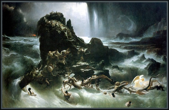 The Deluge by Francis Danby. 1837-1839