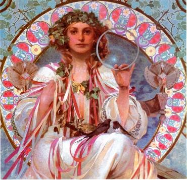 Mucha Goddess Maia