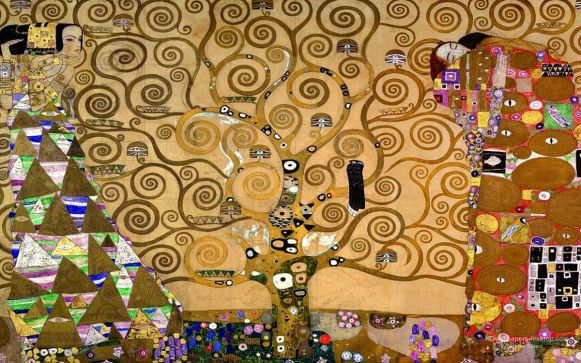 The-Tree-Of-Life Gustav Klimt