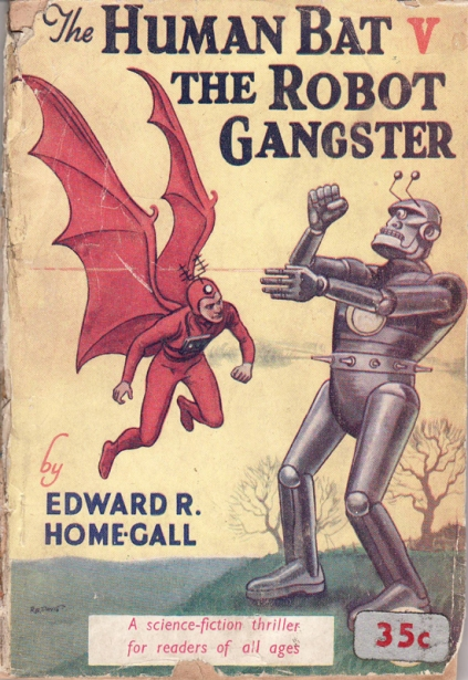 Human bat vs robot gangster